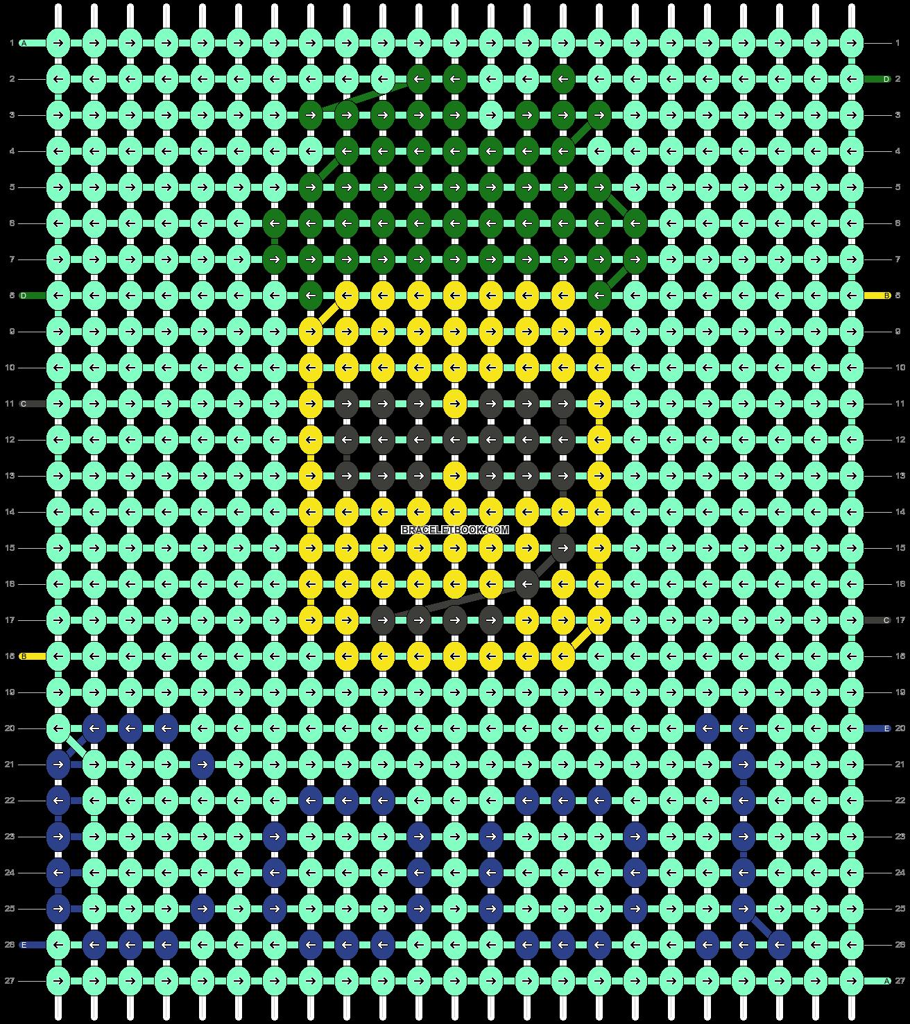 Alpha pattern #48363 pattern