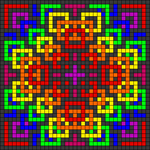Alpha pattern #48380