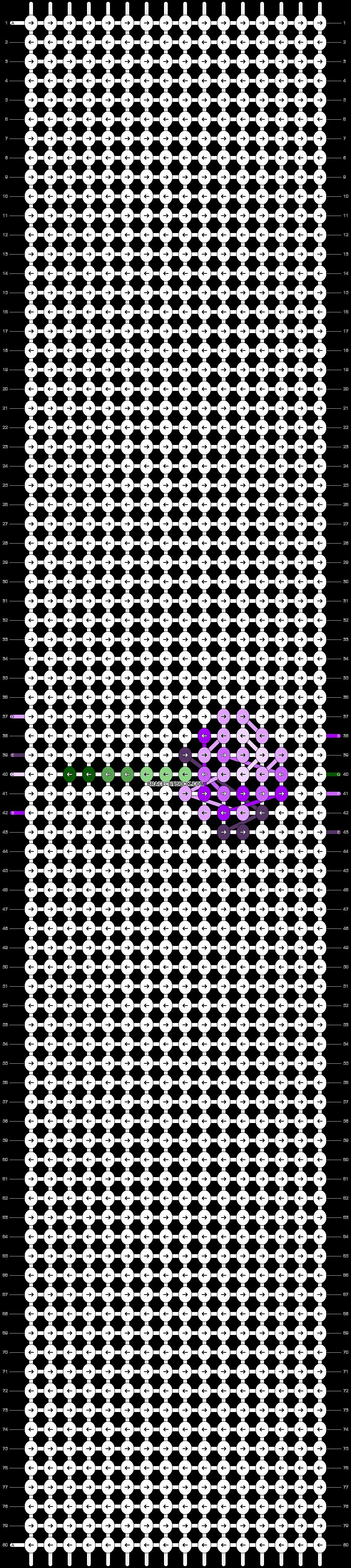 Alpha pattern #48406 pattern