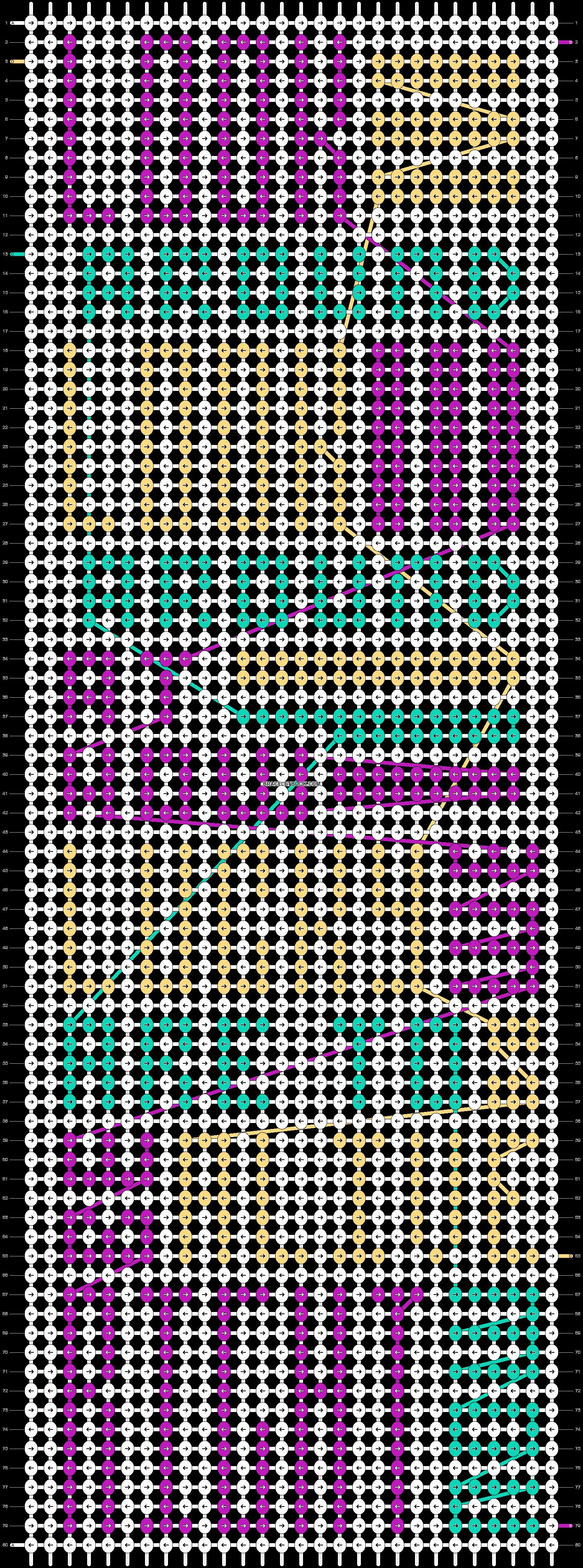 Alpha pattern #48409 pattern