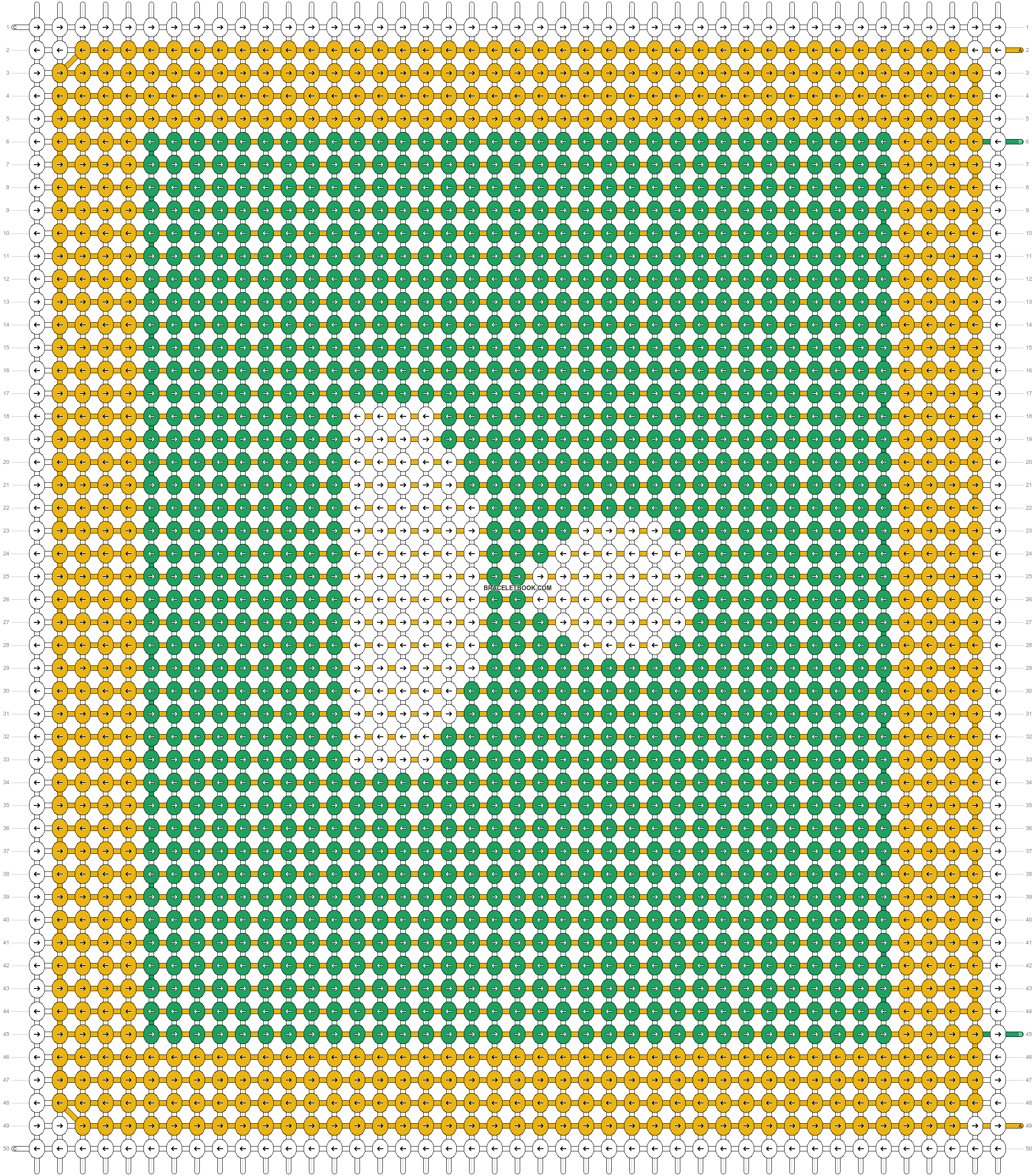 Alpha pattern #48411 pattern