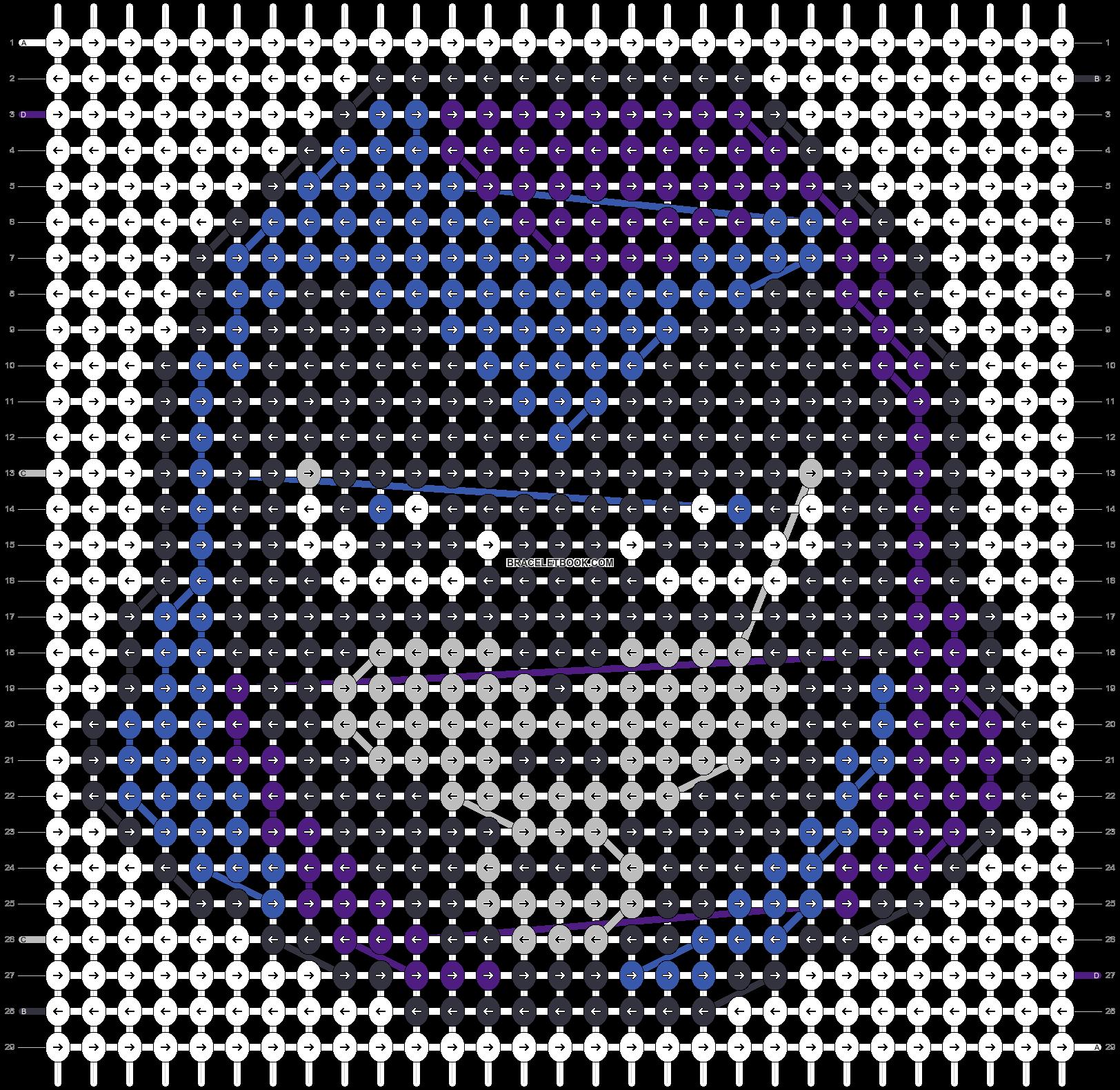 Alpha pattern #48424 pattern