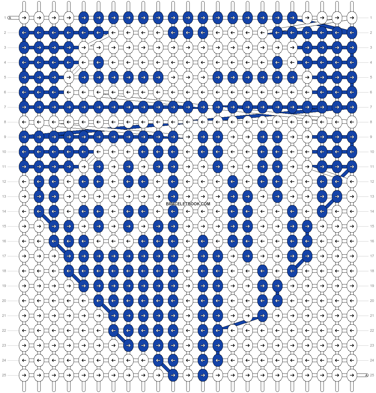 Alpha pattern #48434 pattern