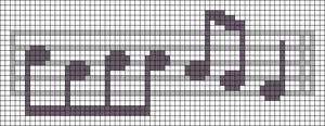 Alpha pattern #48435