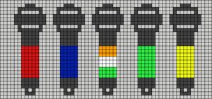 Alpha pattern #48455