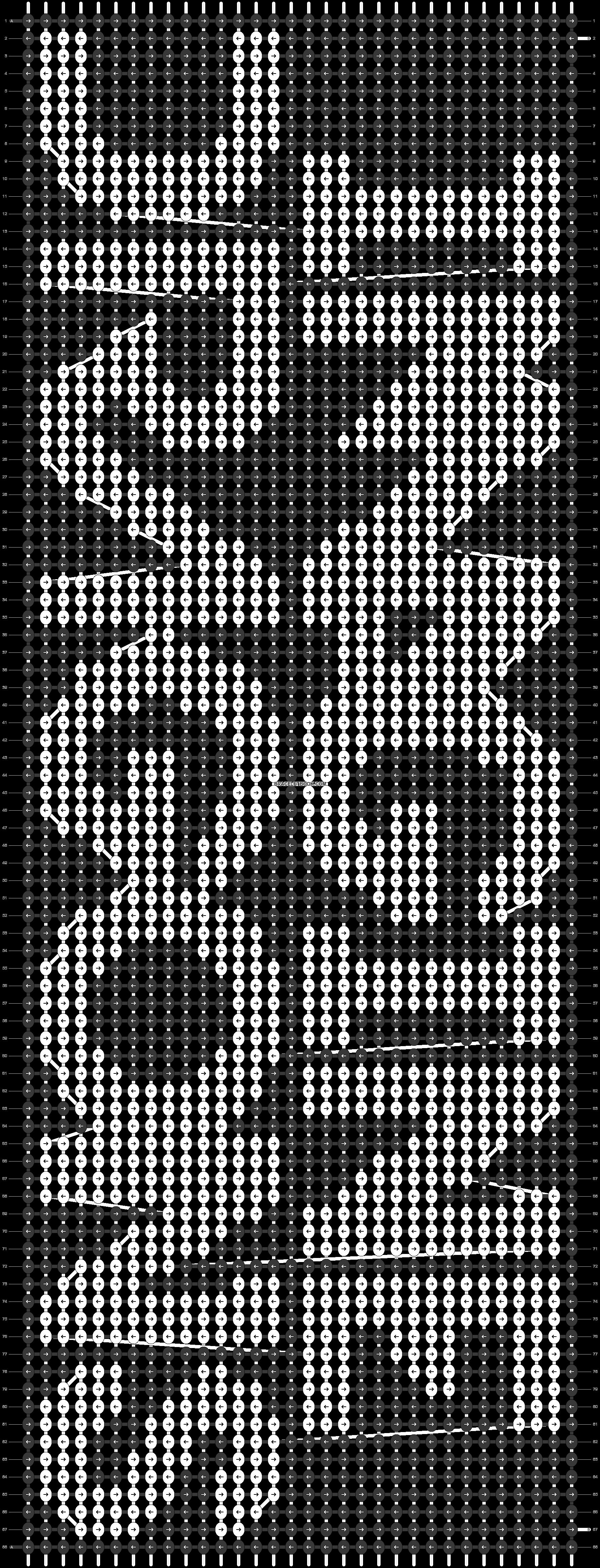 Alpha pattern #48456 pattern