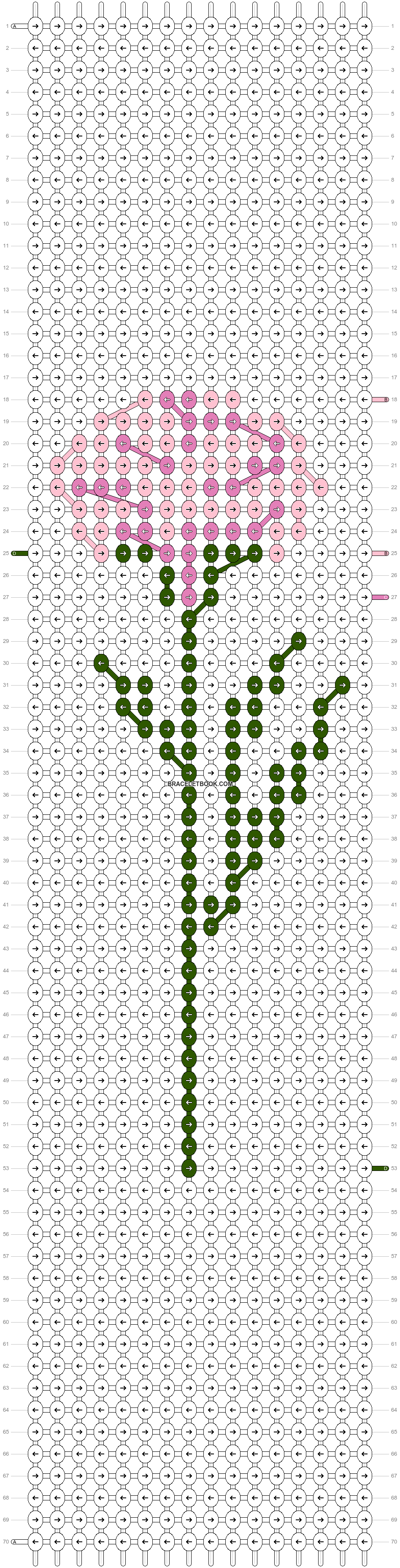 Alpha pattern #48459 pattern