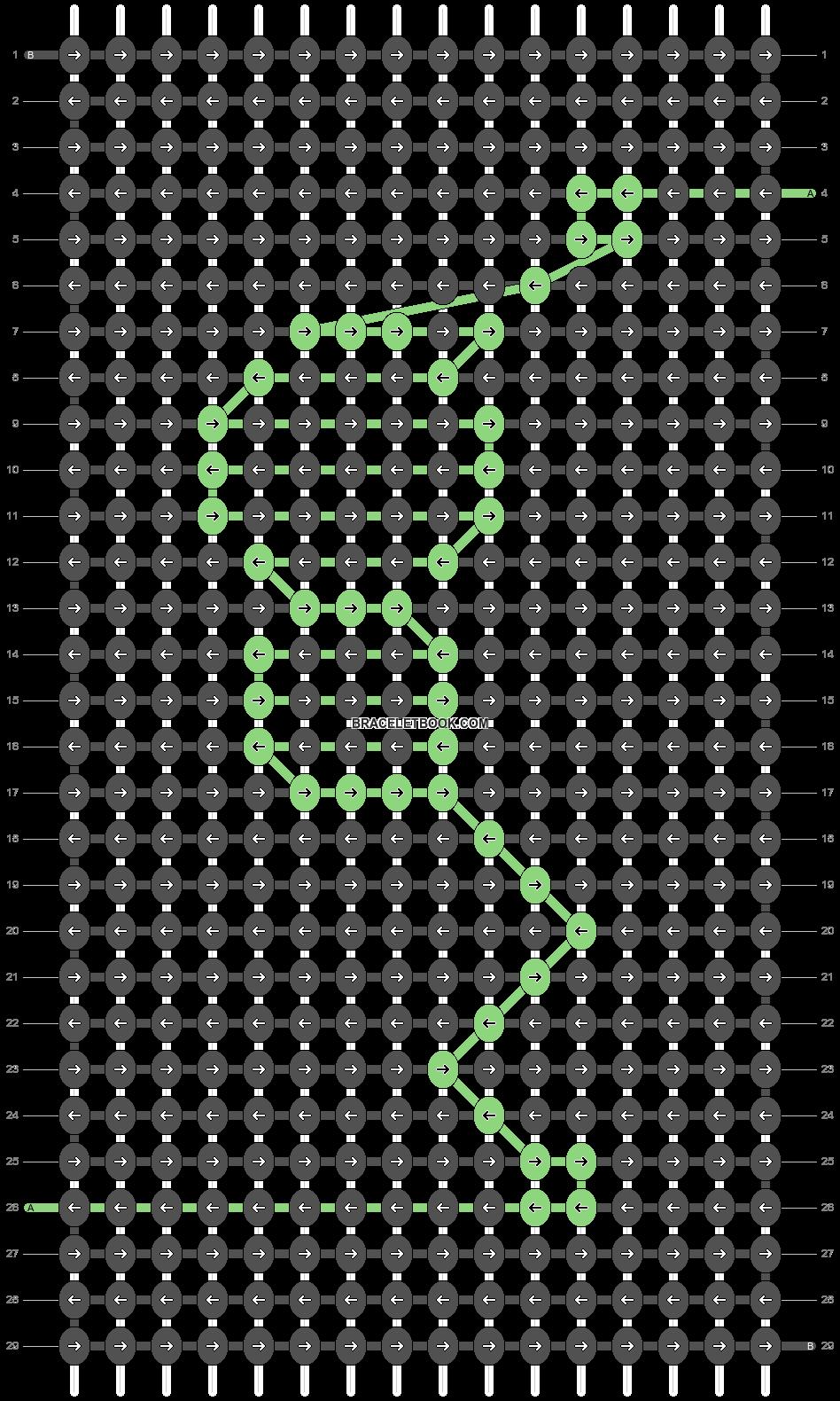Alpha pattern #48466 pattern