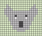 Alpha pattern #48496