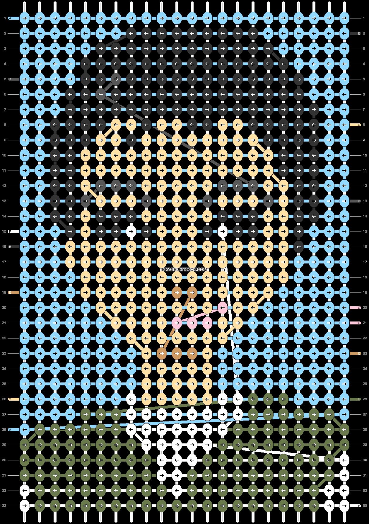 Alpha pattern #48499 pattern