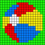 Alpha pattern #48510