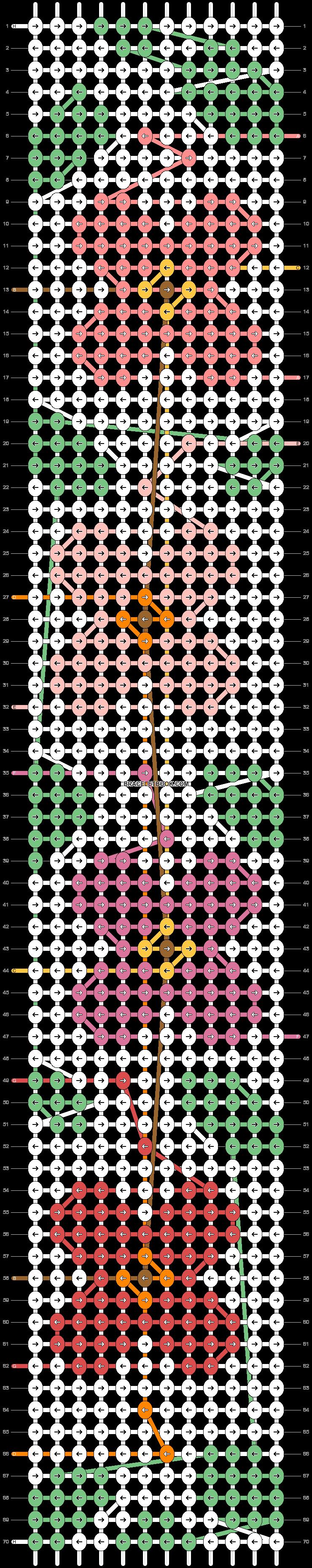 Alpha pattern #48525 pattern