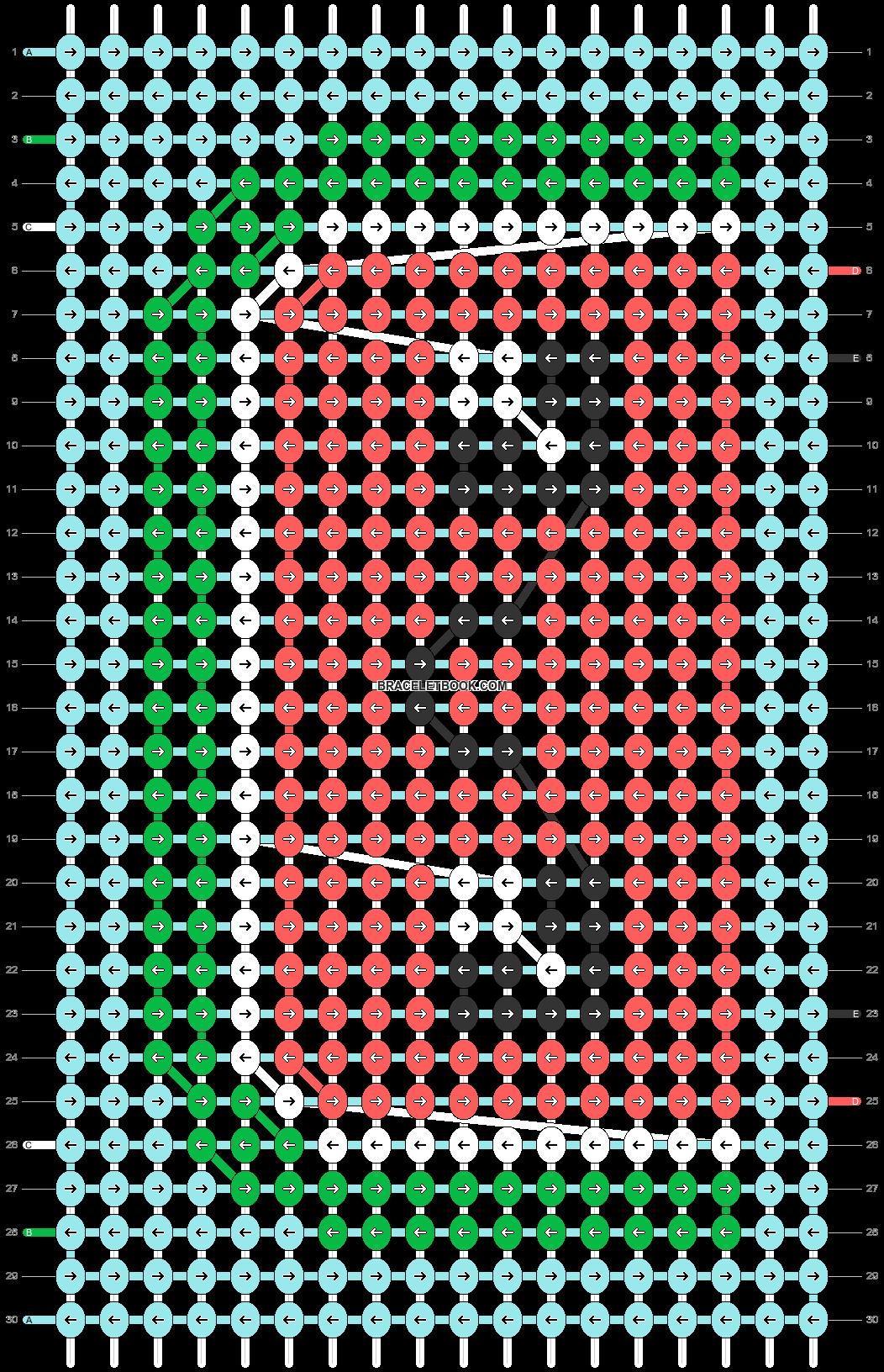 Alpha pattern #48545 pattern