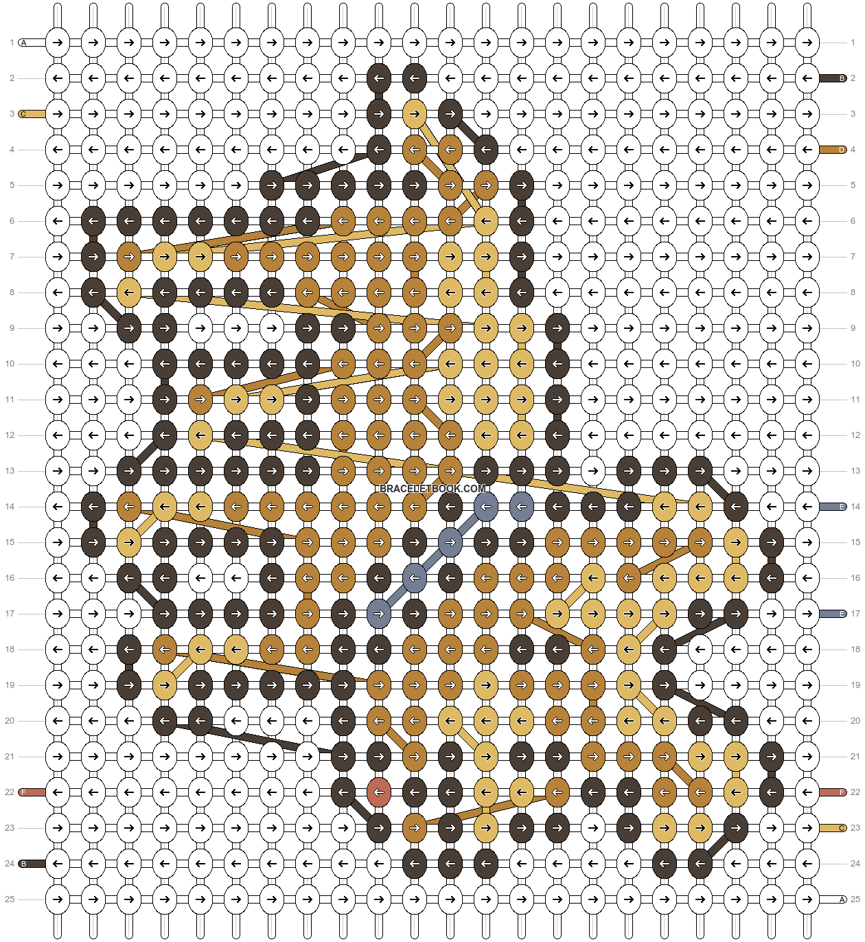 Alpha pattern #48554 pattern