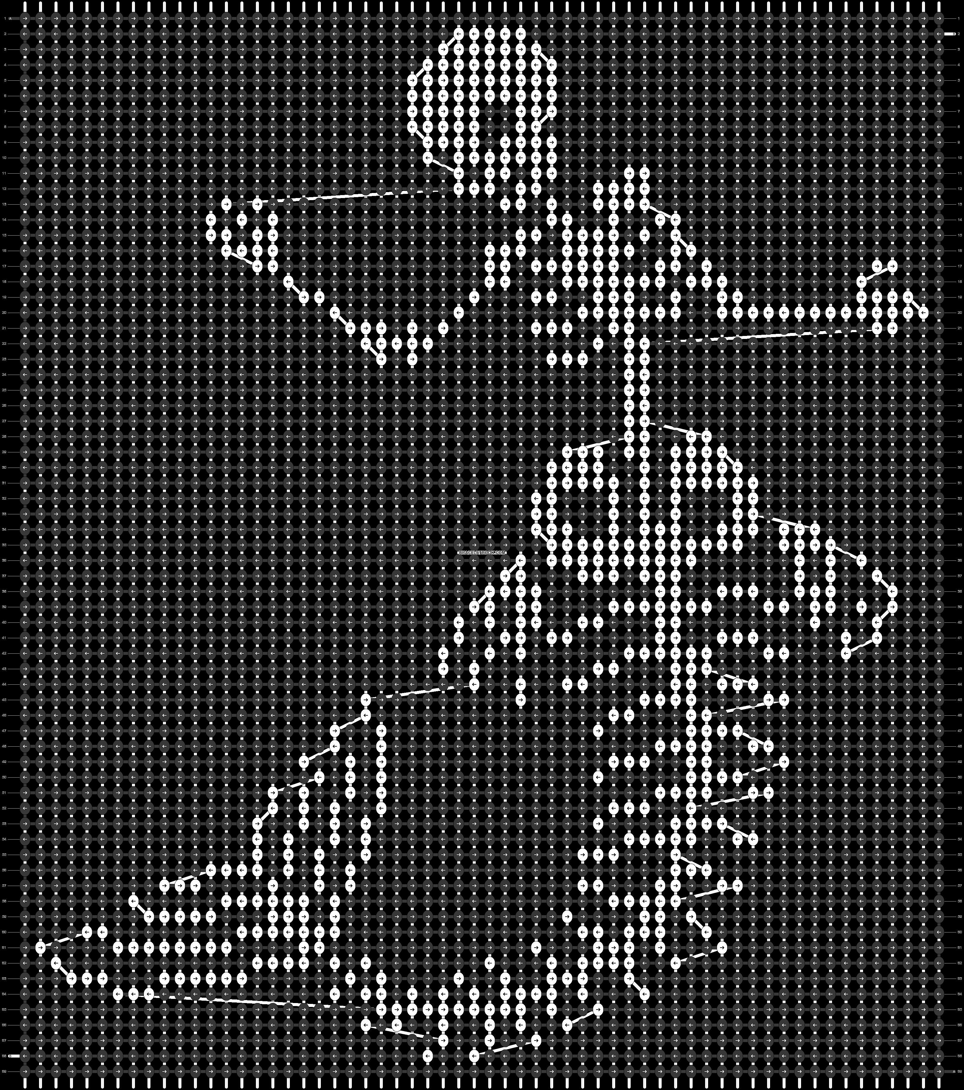 Alpha pattern #48556 pattern