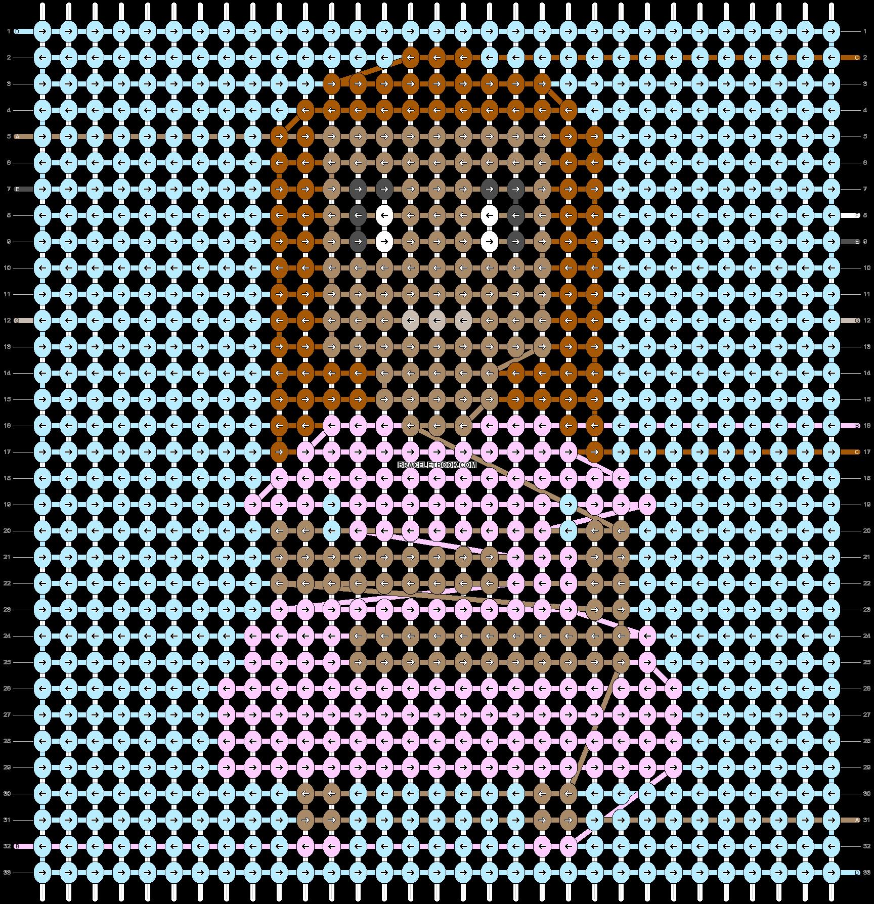 Alpha pattern #48560 pattern
