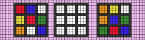 Alpha pattern #48571