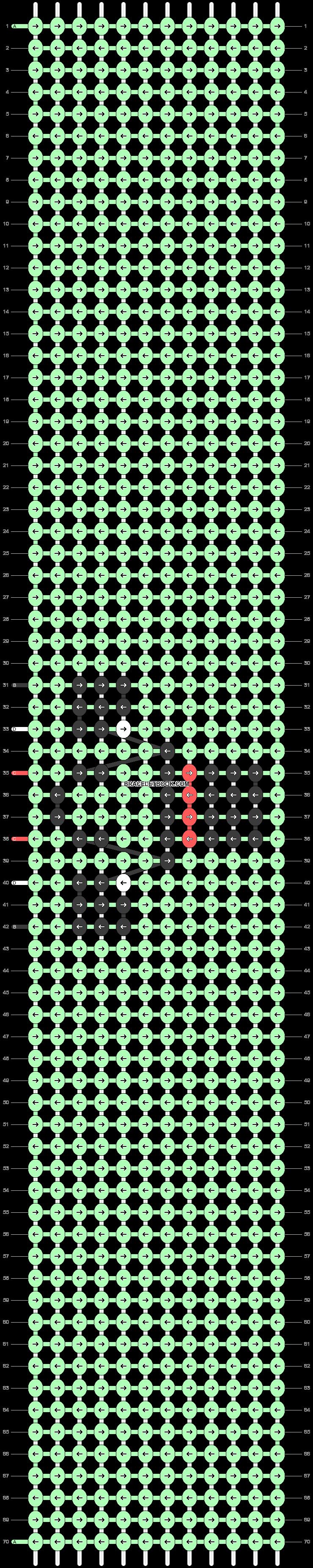 Alpha pattern #48581 pattern