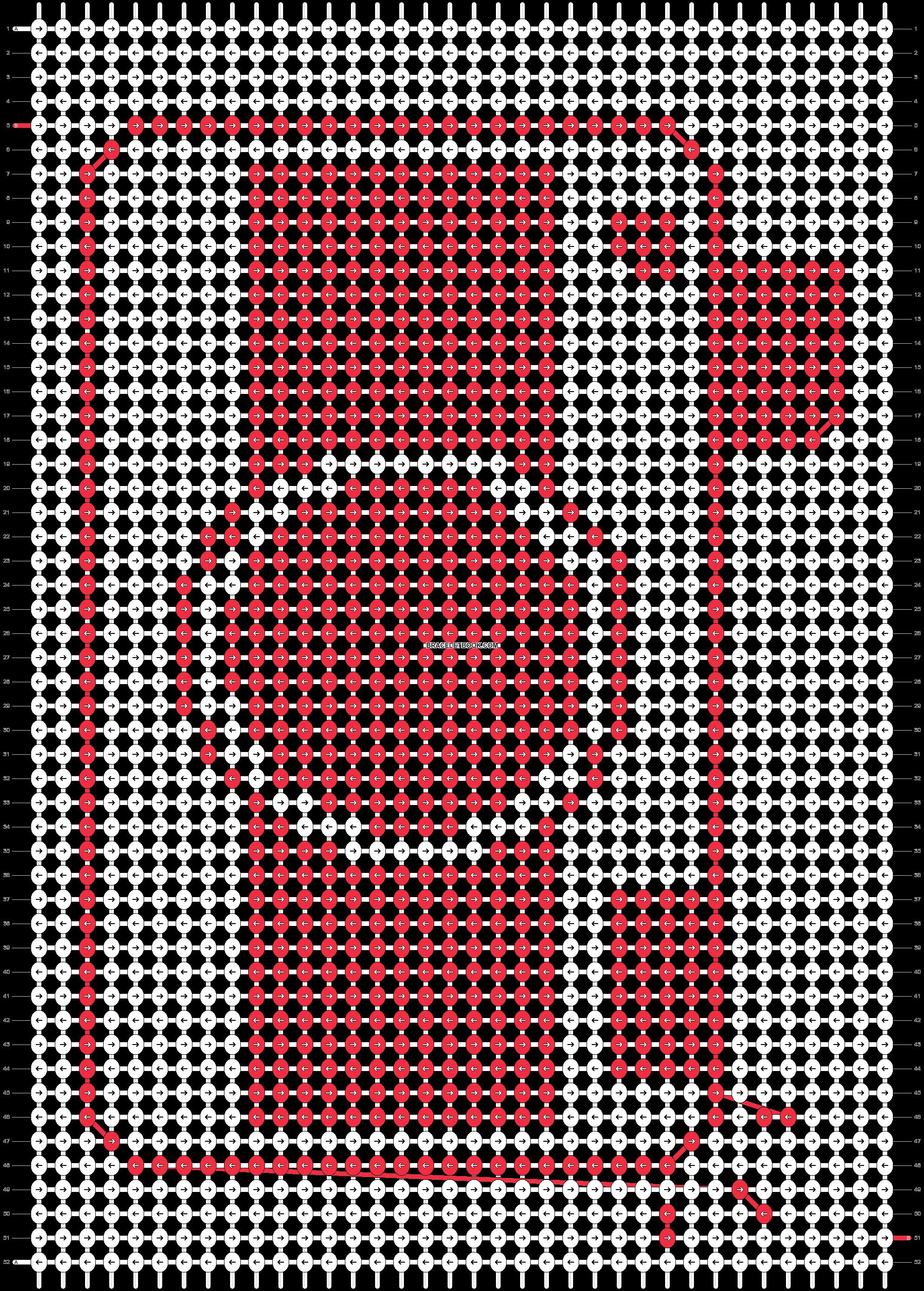 Alpha pattern #48586 pattern