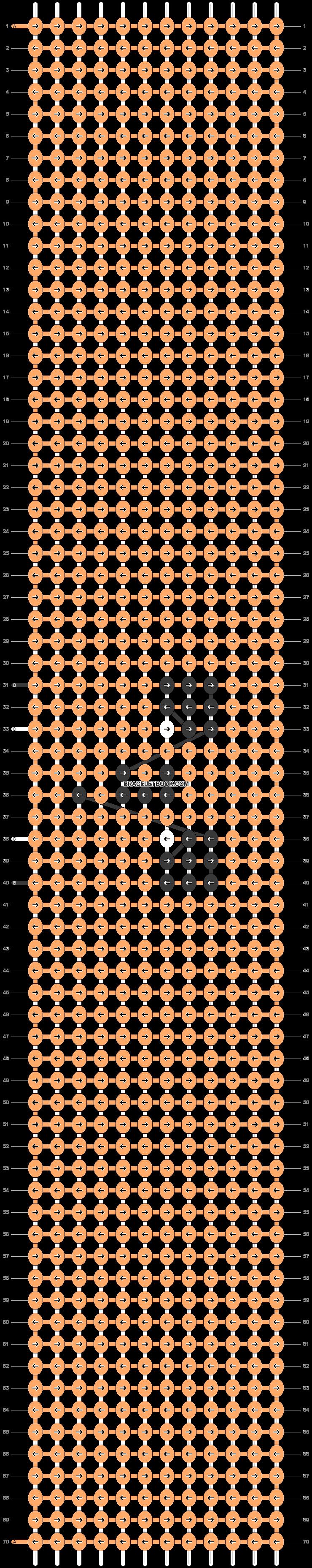 Alpha pattern #48589 pattern