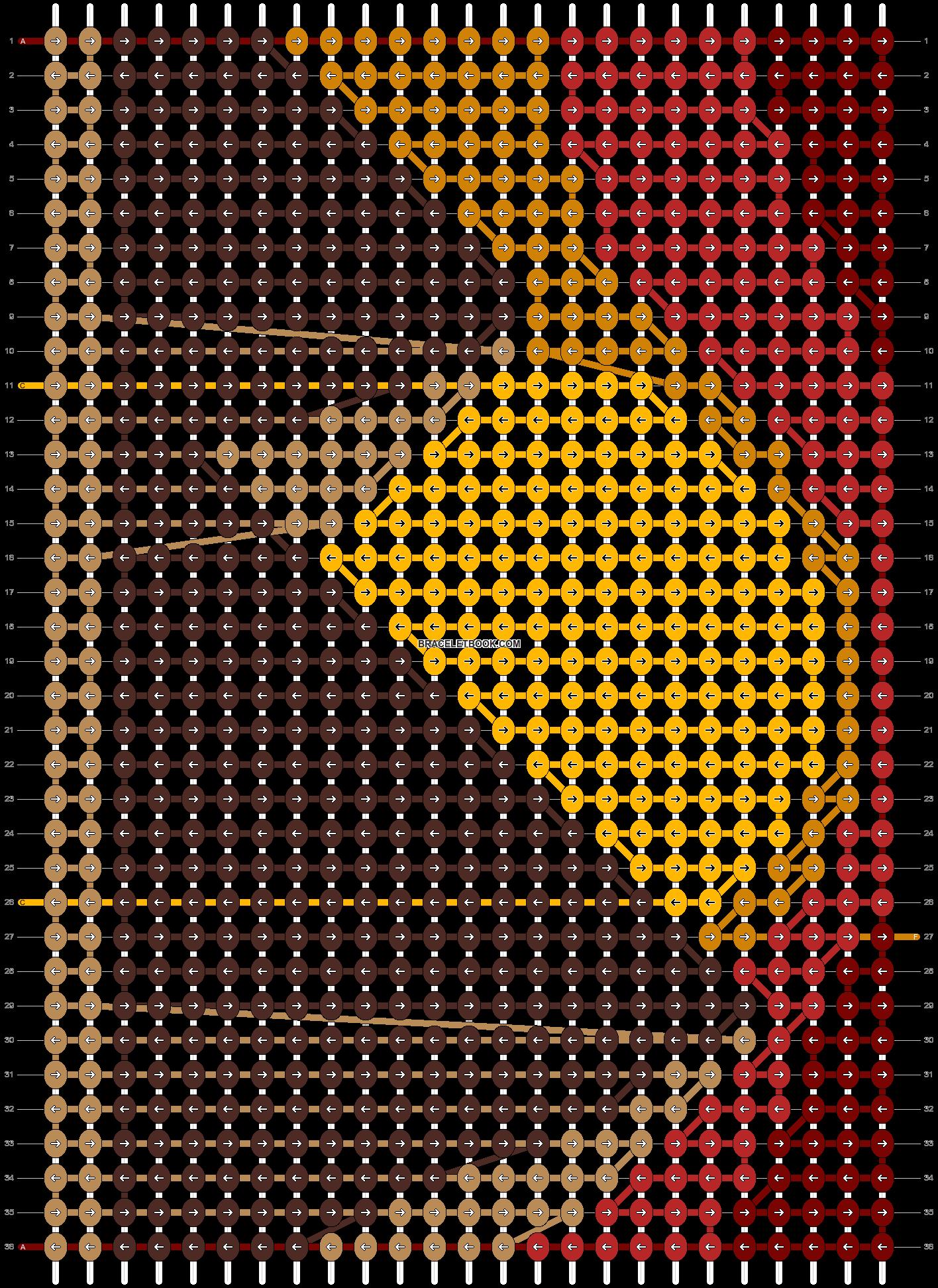 Alpha pattern #48598 pattern
