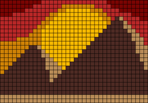 Alpha pattern #48598