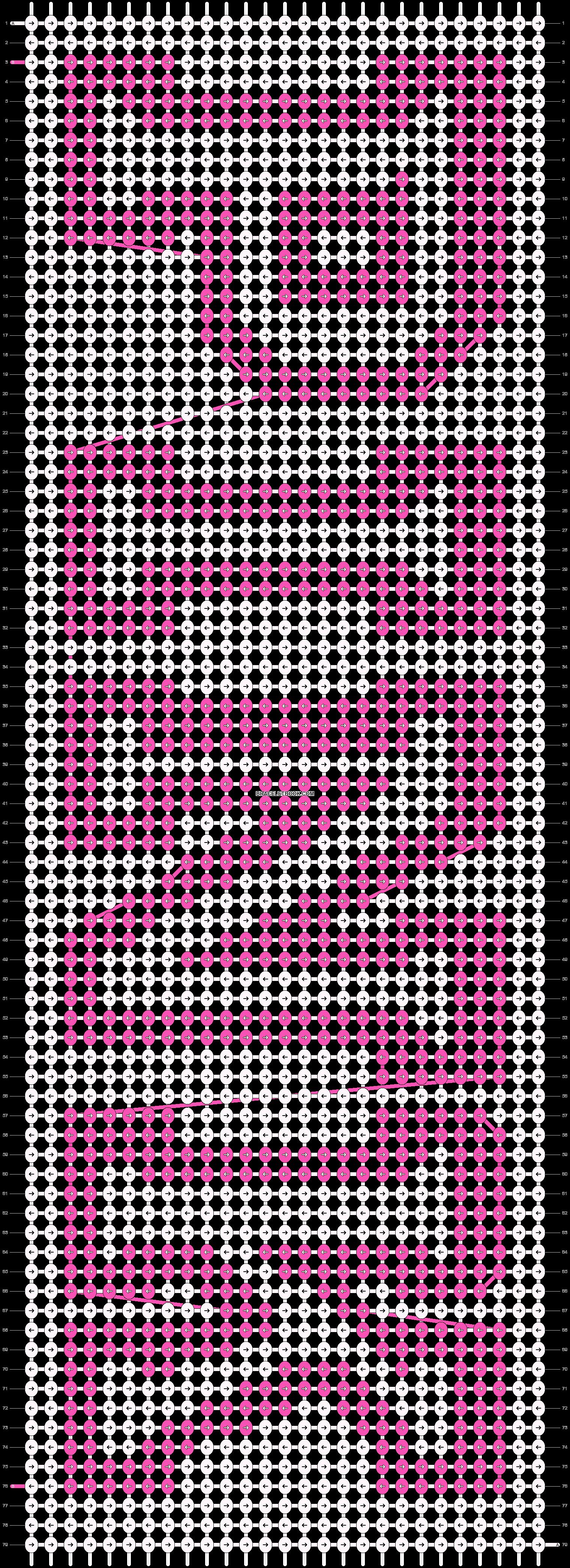 Alpha pattern #48600 pattern