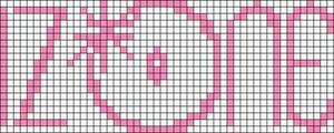 Alpha pattern #48635