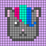 Alpha pattern #48654