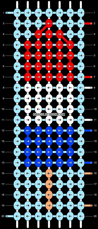 Alpha pattern #48656 pattern