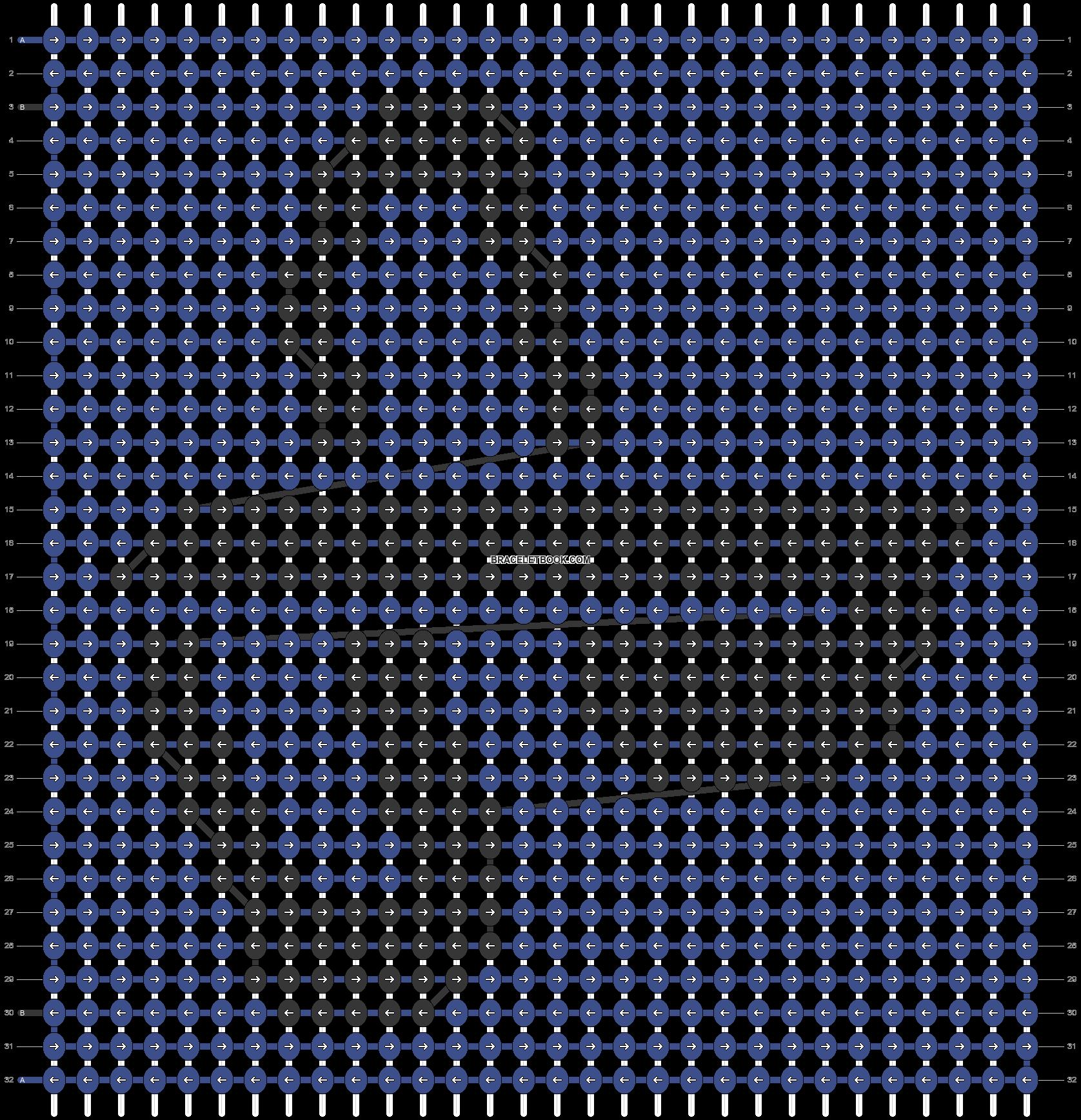 Alpha pattern #48662 pattern