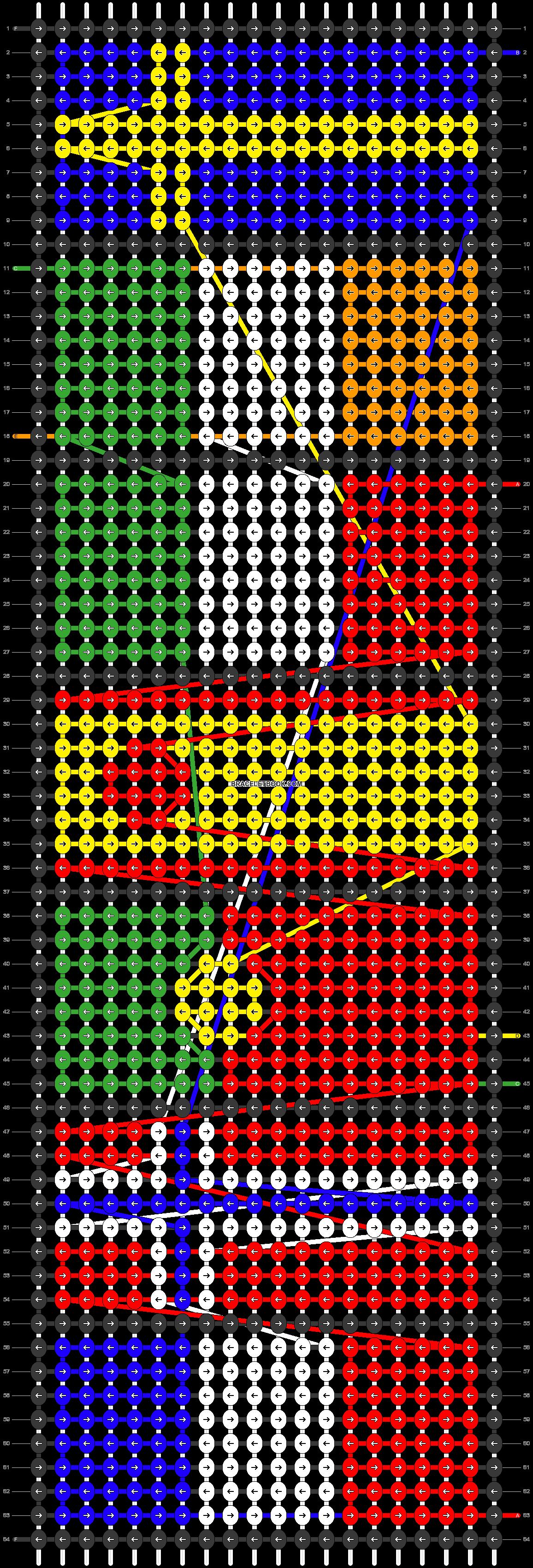 Alpha pattern #48665 pattern