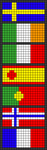 Alpha pattern #48665