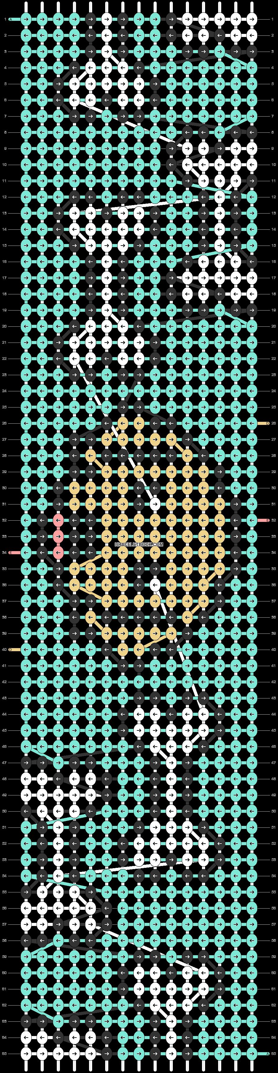 Alpha pattern #48674 pattern