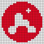 Alpha pattern #48684