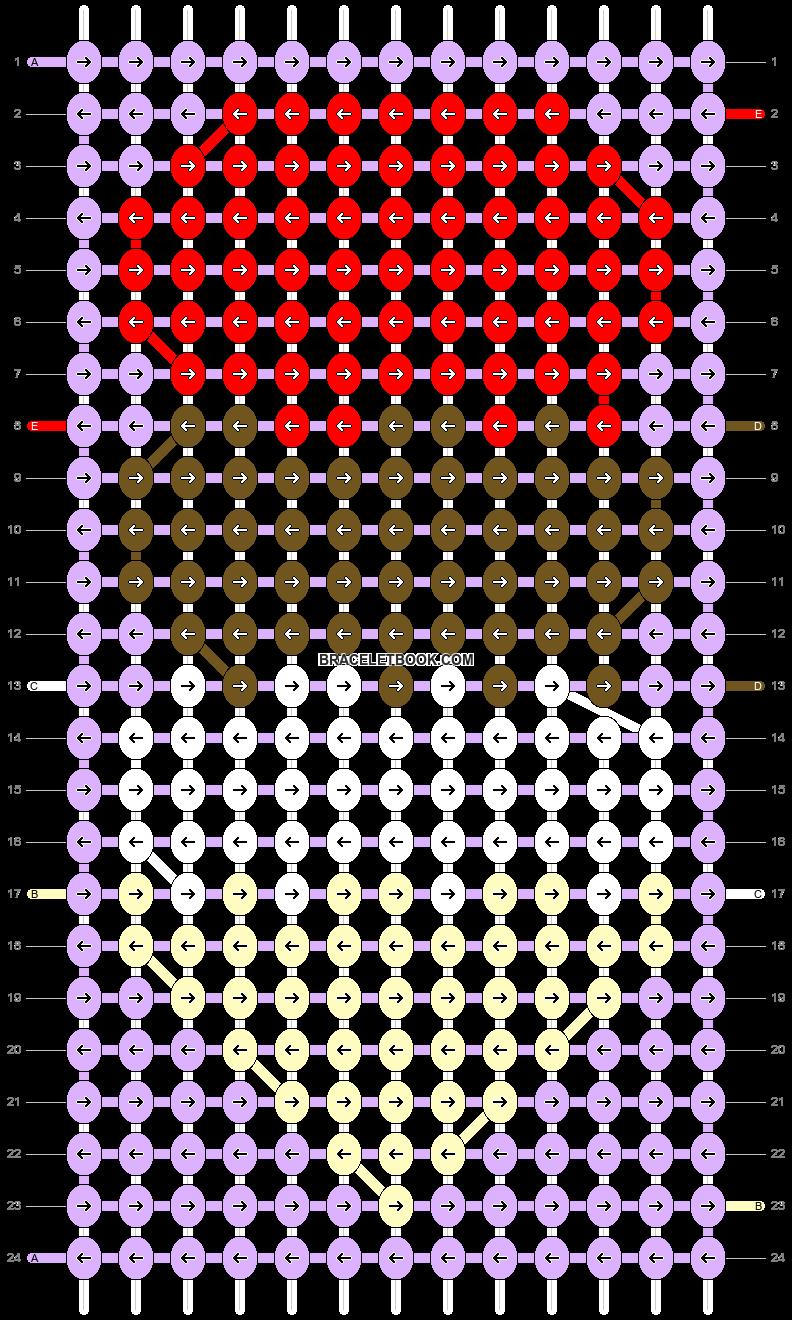 Alpha pattern #48689 pattern