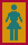 Alpha pattern #48696
