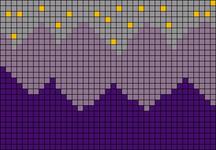 Alpha pattern #48707
