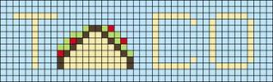 Alpha pattern #48716