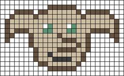 Alpha pattern #48717