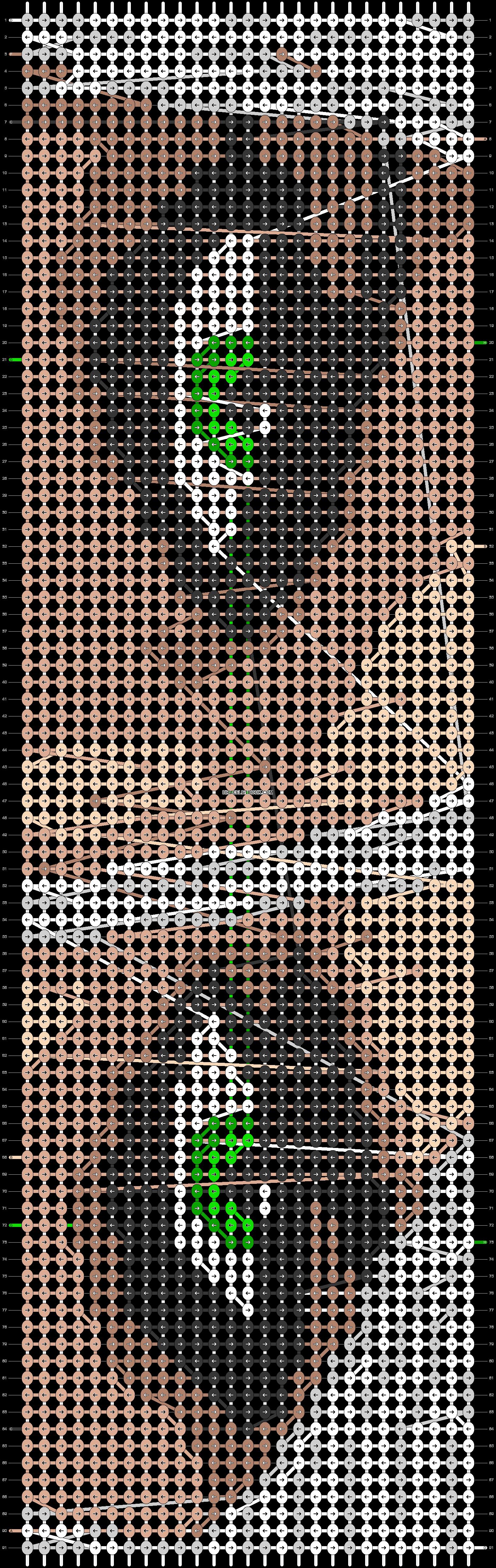 Alpha pattern #48728 pattern