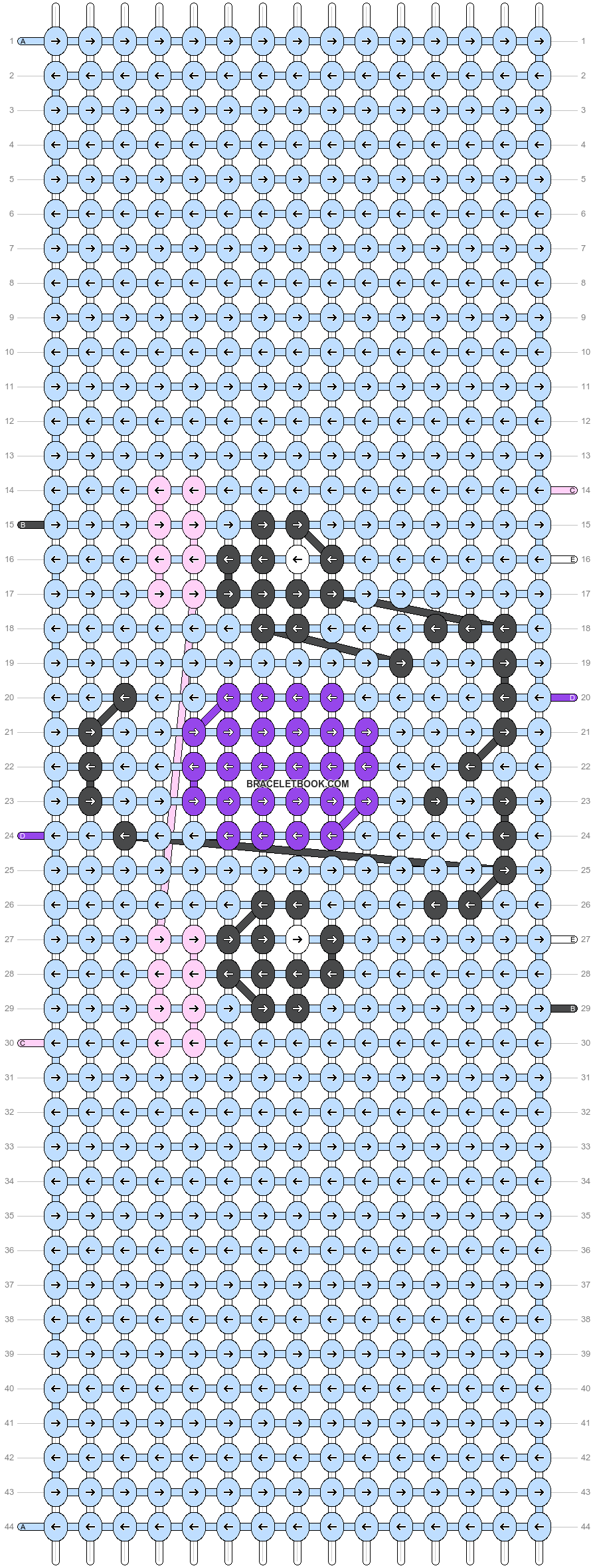 Alpha pattern #48745 pattern