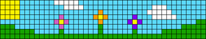 Alpha pattern #48748