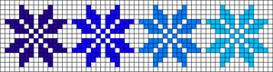 Alpha pattern #48750