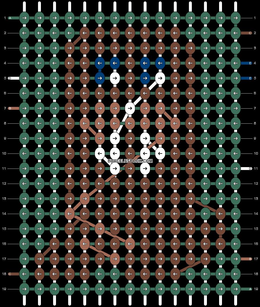 Alpha pattern #48754 pattern