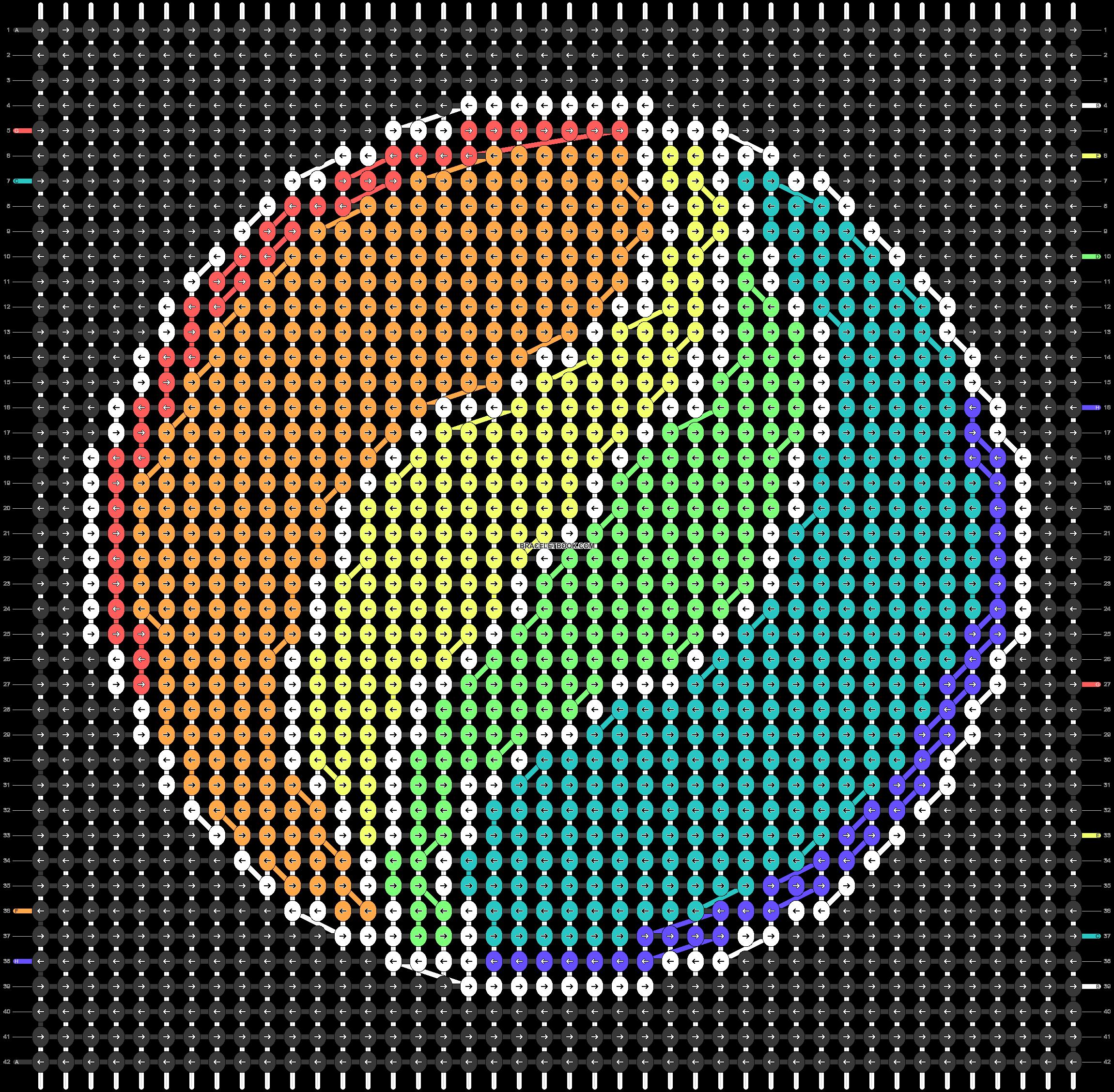 Alpha pattern #48781 pattern