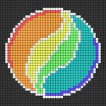 Alpha pattern #48781