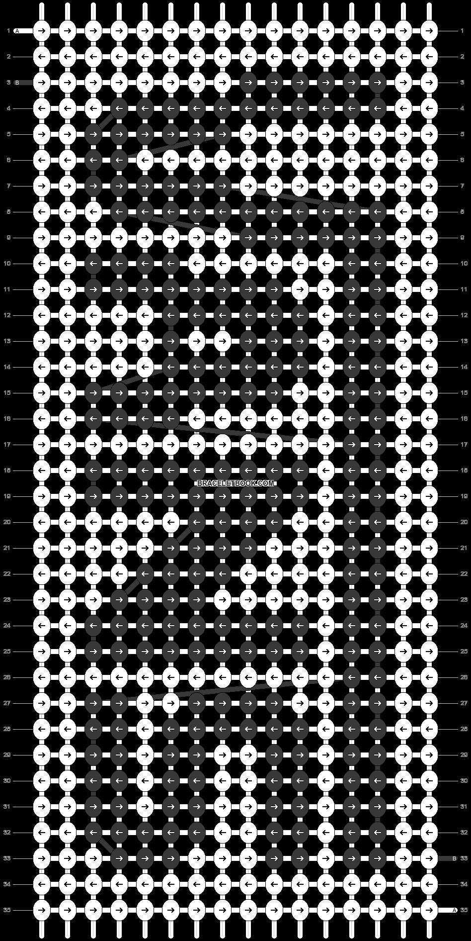 Alpha pattern #48794 pattern