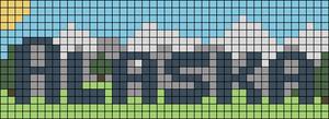 Alpha pattern #48795