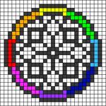 Alpha pattern #48797